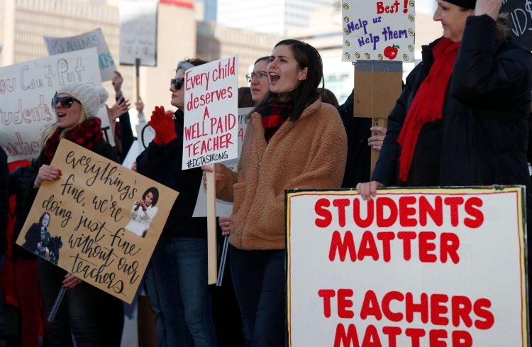 Denver  instructors  extend  strike  after  talks  end  without  offer